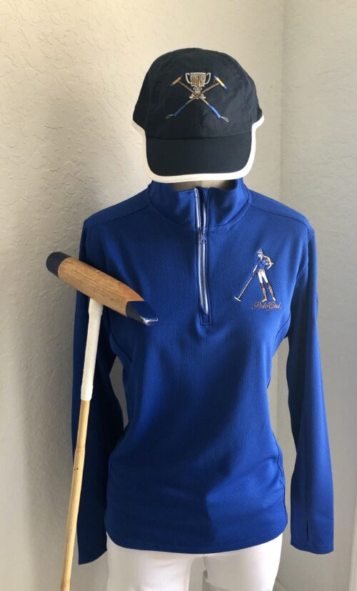 Women's Polo Girl Sport -Wicked Textured 1/4 Zip Pullover